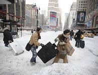 В Нью-Йорке объявлена чрезвычайная ситуация