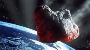 К Земле летит черный астероид