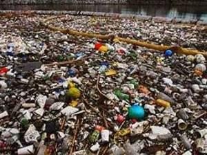 К Америке подплывают тонны мусора
